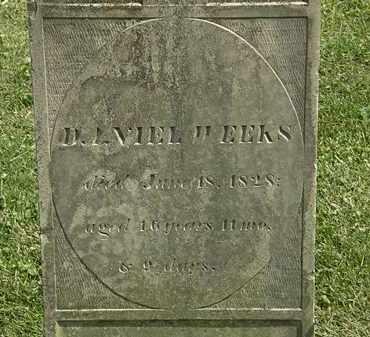 WEEKS, DANIEL - Delaware County, Ohio | DANIEL WEEKS - Ohio Gravestone Photos