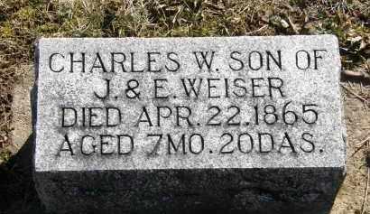 WEISER, E. - Delaware County, Ohio | E. WEISER - Ohio Gravestone Photos