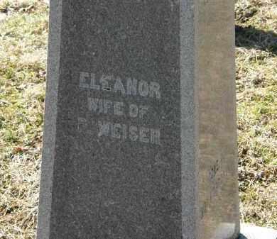 WEISER, ELEANOR - Delaware County, Ohio   ELEANOR WEISER - Ohio Gravestone Photos