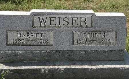 WEISER, HARRIET - Delaware County, Ohio   HARRIET WEISER - Ohio Gravestone Photos