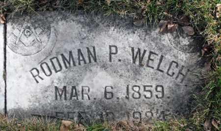WELCH, RODMAN P. - Delaware County, Ohio | RODMAN P. WELCH - Ohio Gravestone Photos