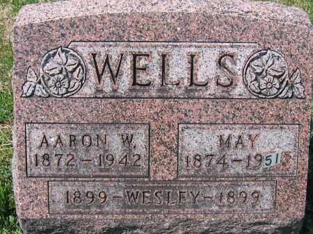 WELLS, MAY - Delaware County, Ohio | MAY WELLS - Ohio Gravestone Photos