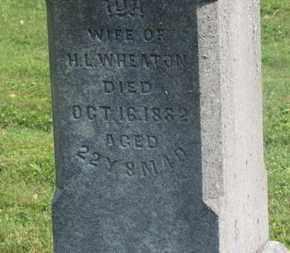 WHEATON, H.L. - Delaware County, Ohio | H.L. WHEATON - Ohio Gravestone Photos