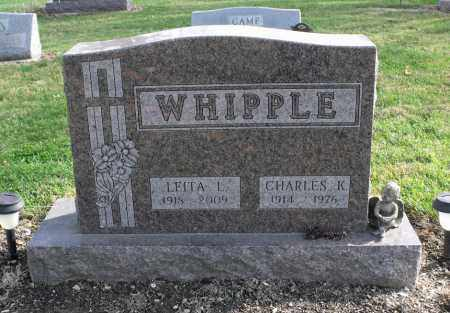 WHIPPLE, LEITA LORRAINE - Delaware County, Ohio | LEITA LORRAINE WHIPPLE - Ohio Gravestone Photos