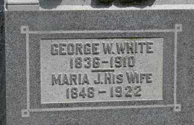 WHITE, GEORGE W. - Delaware County, Ohio   GEORGE W. WHITE - Ohio Gravestone Photos