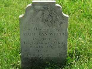 WHITE, G. - Delaware County, Ohio | G. WHITE - Ohio Gravestone Photos