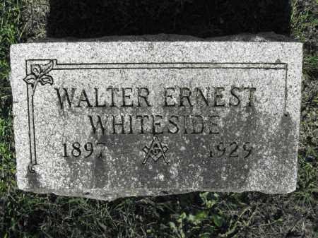 WHITESIDE, WALTER ERNEST - Delaware County, Ohio | WALTER ERNEST WHITESIDE - Ohio Gravestone Photos