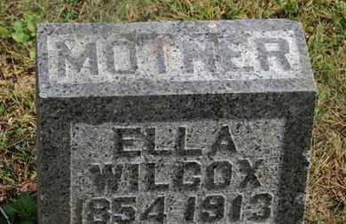 WILCOX, ELLA - Delaware County, Ohio   ELLA WILCOX - Ohio Gravestone Photos