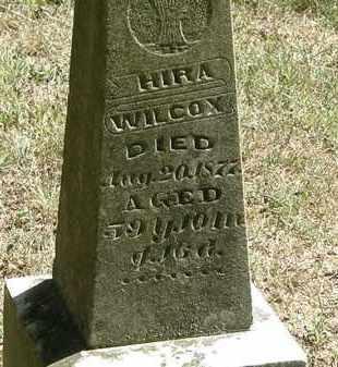 WILCOX, HIRA - Delaware County, Ohio | HIRA WILCOX - Ohio Gravestone Photos