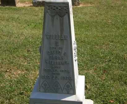 WILLIAMS, WILLIAM H. - Delaware County, Ohio | WILLIAM H. WILLIAMS - Ohio Gravestone Photos