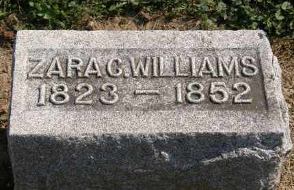WILLIAMS, ZARA C. - Delaware County, Ohio | ZARA C. WILLIAMS - Ohio Gravestone Photos