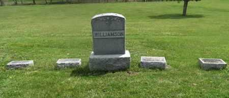 WILLIAMSON, FAMILY MARKER - Delaware County, Ohio   FAMILY MARKER WILLIAMSON - Ohio Gravestone Photos