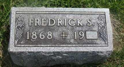 WILLIAMSON, FREDRICK S. - Delaware County, Ohio | FREDRICK S. WILLIAMSON - Ohio Gravestone Photos