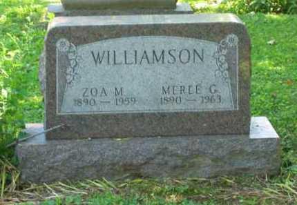 WILLIAMSON, MERLE GEORGE - Delaware County, Ohio | MERLE GEORGE WILLIAMSON - Ohio Gravestone Photos