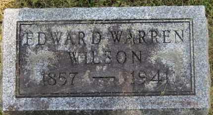 WILSON, EDWARD WARREN - Delaware County, Ohio   EDWARD WARREN WILSON - Ohio Gravestone Photos