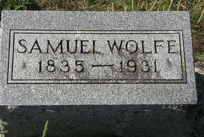 WOLFE, SAMUEL - Delaware County, Ohio | SAMUEL WOLFE - Ohio Gravestone Photos