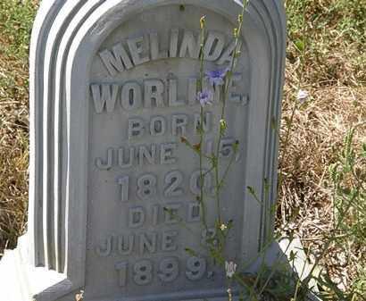 WORLINE, MELINDA - Delaware County, Ohio   MELINDA WORLINE - Ohio Gravestone Photos