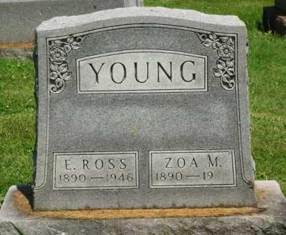 YOUNG, ZOA MAE - Delaware County, Ohio | ZOA MAE YOUNG - Ohio Gravestone Photos