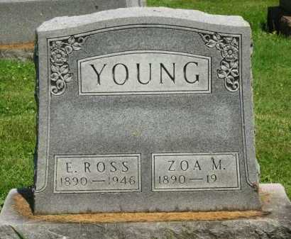 YOUNG, ERNEST ROSS - Delaware County, Ohio | ERNEST ROSS YOUNG - Ohio Gravestone Photos