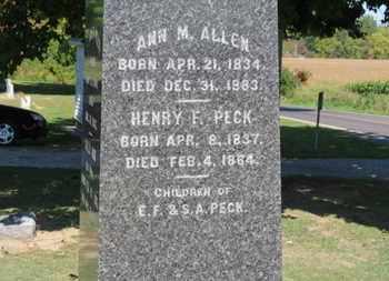 ALLEN, ANN M. - Erie County, Ohio   ANN M. ALLEN - Ohio Gravestone Photos