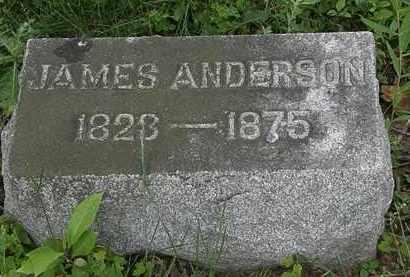 ANDERSON, JAMES - Erie County, Ohio | JAMES ANDERSON - Ohio Gravestone Photos