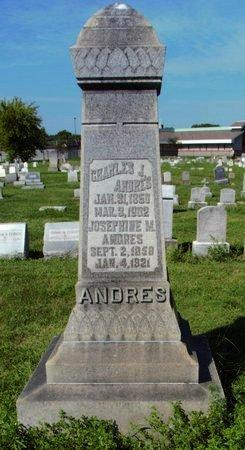 ANDRES, CHARLES - Erie County, Ohio   CHARLES ANDRES - Ohio Gravestone Photos