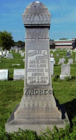 ANDRES, JOSEPHINE - Erie County, Ohio | JOSEPHINE ANDRES - Ohio Gravestone Photos