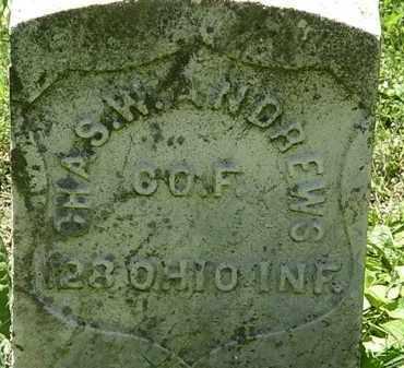 ANDREWS, CHAS. W. - Erie County, Ohio | CHAS. W. ANDREWS - Ohio Gravestone Photos