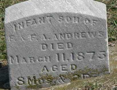 ANDREWS, F.A. - Erie County, Ohio | F.A. ANDREWS - Ohio Gravestone Photos
