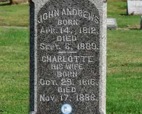 ANDREWS, JOHN - Erie County, Ohio   JOHN ANDREWS - Ohio Gravestone Photos
