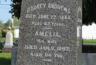 ANDREWS, RODNEY - Erie County, Ohio   RODNEY ANDREWS - Ohio Gravestone Photos
