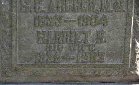 ARCHER, S. C. - Erie County, Ohio   S. C. ARCHER - Ohio Gravestone Photos