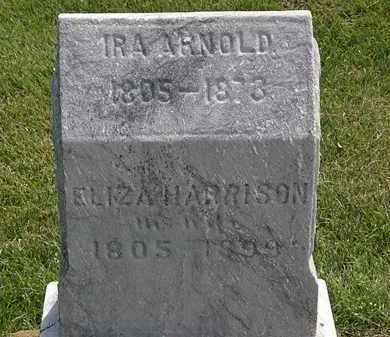 HARRISON ARNOLD, ELIZA - Erie County, Ohio | ELIZA HARRISON ARNOLD - Ohio Gravestone Photos