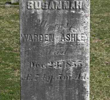 ASHLEY, WARDEN - Erie County, Ohio | WARDEN ASHLEY - Ohio Gravestone Photos