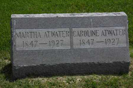ATWATER, CAROLINE - Erie County, Ohio   CAROLINE ATWATER - Ohio Gravestone Photos
