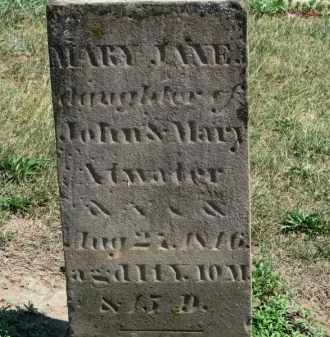 ATWATER, MARY JANE - Erie County, Ohio | MARY JANE ATWATER - Ohio Gravestone Photos