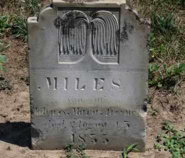 ATWATER, MILES - Erie County, Ohio   MILES ATWATER - Ohio Gravestone Photos