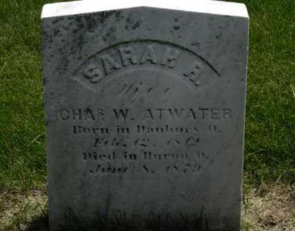ATWATER, CHAS. W. - Erie County, Ohio | CHAS. W. ATWATER - Ohio Gravestone Photos