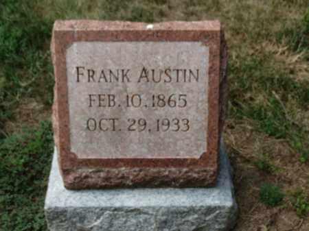 AUSTIN, FRANK - Erie County, Ohio | FRANK AUSTIN - Ohio Gravestone Photos