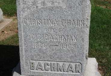 BACHMAN, C.C. - Erie County, Ohio | C.C. BACHMAN - Ohio Gravestone Photos