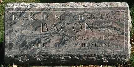 BACON, CHARLES C. - Erie County, Ohio   CHARLES C. BACON - Ohio Gravestone Photos