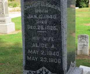 BACON, CHARLES B. - Erie County, Ohio   CHARLES B. BACON - Ohio Gravestone Photos