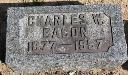 BACON, CHARLES W. - Erie County, Ohio | CHARLES W. BACON - Ohio Gravestone Photos