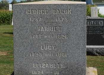 BACON, GEORGE - Erie County, Ohio | GEORGE BACON - Ohio Gravestone Photos