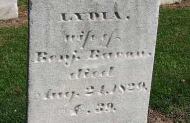 BACON, LYDIA - Erie County, Ohio | LYDIA BACON - Ohio Gravestone Photos