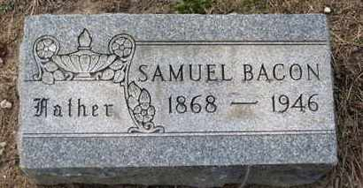 BACON, SAMUEL - Erie County, Ohio | SAMUEL BACON - Ohio Gravestone Photos