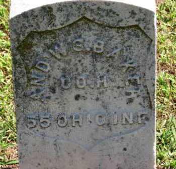 BAKER, AND'W - Erie County, Ohio | AND'W BAKER - Ohio Gravestone Photos