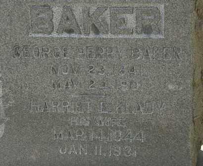 BAKER, HARRIET E. - Erie County, Ohio | HARRIET E. BAKER - Ohio Gravestone Photos