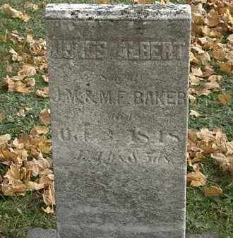BAKER, M.F. - Erie County, Ohio   M.F. BAKER - Ohio Gravestone Photos