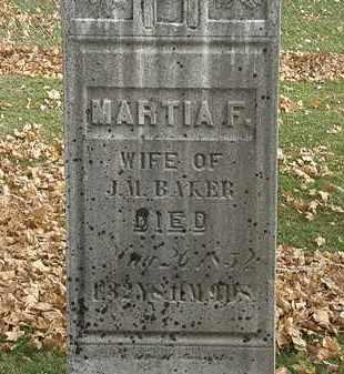 BAKER, J.M. - Erie County, Ohio | J.M. BAKER - Ohio Gravestone Photos
